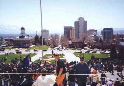 Blick von der City Hall