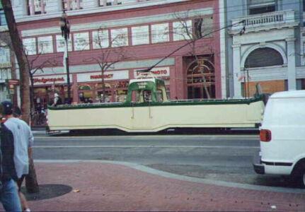 Cabrio Strassenbahn